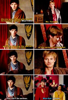 One of Morgana's favorite tv shows - Merlin (and not just bc she's named after Morgana Le Fay )