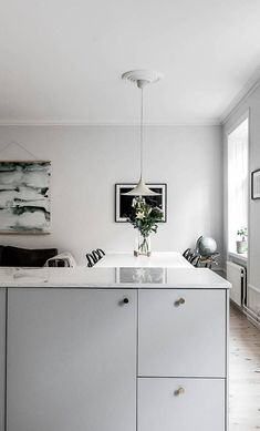 Great kitchen and living area - via Coco Lapine Design blog