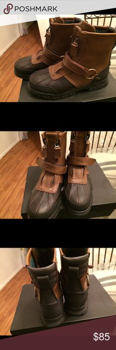 Polo Boots. Unisex. Mens 8 or Women's 9.5. Excellent condition. Not a scuff or scratch. Polo by Ralph Lauren Shoes Boots