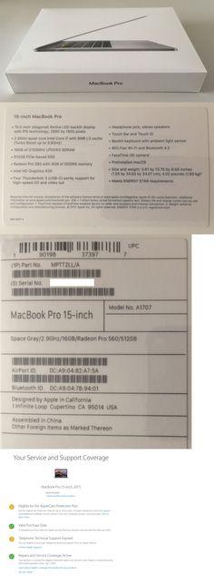 computers: 2017 Apple Macbook Pro 15 Touchbar 2.9Ghz I7 16 Ram 512Gb Ssd Brand New! -> BUY IT NOW ONLY: $2615 on eBay!