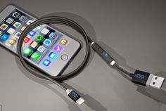 SONICable Smart Cable Lets You Charge Your Smartphone Twice As Fast