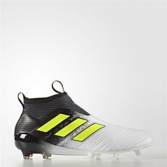 half off 49556 6ca2b Adidas ACE 17+ Purecontrol Firm Ground Cleats (Running White Ftw    Electricity   Core