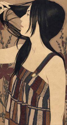 池永康成さんの美人画