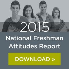 This is the second part of a two-part blog on how colleges and universities can respond to the findings of Noel-Levitz's 2014 National Freshman Attitudes Report.