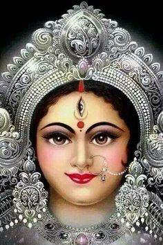 navaratri special durga puja picture collection - Life is Won for Flying (wonfy) Maa Durga Photo, Maa Durga Image, Durga Images, Lakshmi Images, Indian Goddess, Goddess Lakshmi, Durga Puja, Saraswati Mata, Bhagavad Gita