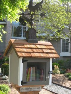 Little Free Library Has a Higher Purpose - Edmonds, WA #littlefreelibrary