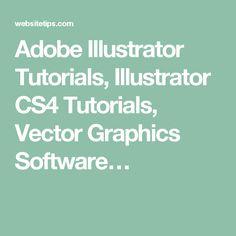 Adobe Illustrator Tutorials, Illustrator CS4 Tutorials, Vector Graphics Software…