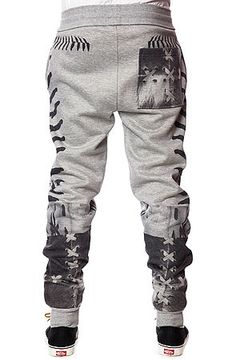 The Laced Sweatpants in Heather Grey by LATHC use rep code: OLIVE for 20% off!