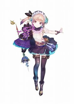 View an image titled 'Lydie Malen Art' in our Atelier Lydie & Suelle: The Alchemists and the Mysterious Paintings art gallery featuring official character designs, concept art, and promo pictures. Fantasy Character, Character Concept, Character Art, Girls Characters, Manga Characters, Anime Girl Cute, Anime Art Girl, Anime Horoscope, Atelier Series