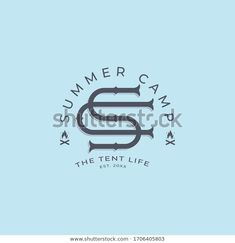 Find Sc Monogram Logo Camping Logo Template stock images in HD and millions of other royalty-free stock photos, illustrations and vectors in the Shutterstock collection.  Thousands of new, high-quality pictures added every day. Monochrome, Camp Logo, Branding, Lettering, Monogram Logo, Logo Templates, Chevrolet Logo, Vectors, Royalty Free Stock Photos