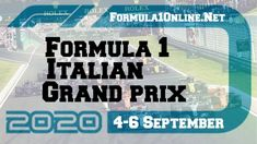 Monza Italy #Live Streaming 2020 and Race Full Replay NOW