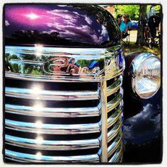 Custom 1940 Chevrolet pick-up truck. Classic Trucks, Classic Cars, Ppg Paint, Custom Chevy Trucks, Chevy Girl, Front Grill, Vintage Trucks, Cool Trucks, Pick Up
