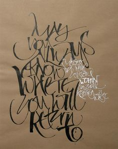 ✍ Sensual Calligraphy Scripts ✍ initials, typography styles and calligraphic art - Cola pen