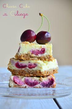 Cucina Scacciapensieri: Cheese cake alle ciliegie e base ai cereali