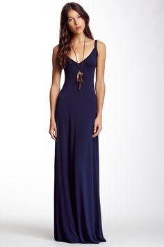 Go Couture V-Neck Maxi Dress on SALE (more colors)