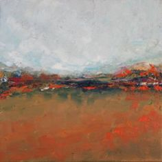 "Saatchi Art Artist Kajal Zaveri; Painting, ""Autumn Fields"" #art"