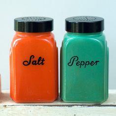 Vintage McKee salt and pepper shakers