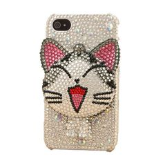 cat iphone 4 case Designer iphone 4 case iphone 4s case by Veasoon, $33.99