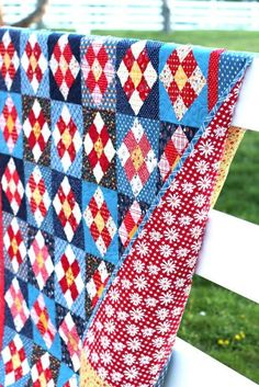 New Gingham Girls Pattern - A Stitch in Time - Diary of a Quilter - a quilt blog