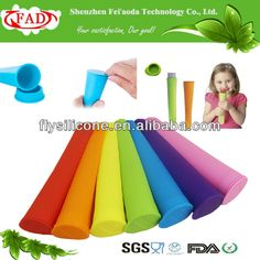 Food Grade Flexible Silicone Industrial Popsicle Molds $0.3~$5