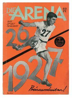 John Heartfield Die Arena, Sport Magazine, 1927