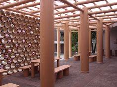 world cup pavilion shigeru ban designboom