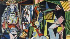 "Picasso ""Les femmes d'Alger (Version ,O')""  1955"