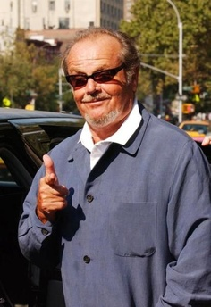 Jack Nicholson...wow what talent :)