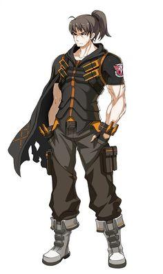 Game Character Design, Character Concept, Character Art, Anime Oc, Anime Guys, Soul Fighter, Cyberpunk, Anime Ninja, Cartoon Man