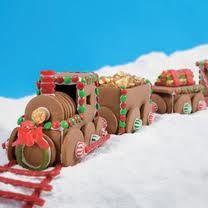 The annual Christmas Gingerbread train. Christmas Goodies, Christmas Treats, Christmas Baking, All Things Christmas, Holiday Fun, Christmas Holidays, Xmas, Christmas Baby, Festive