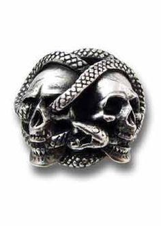 Corruption Ring - Alchemy Gothic Rings