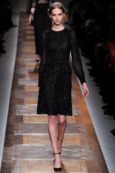 Fall 2012 RTW, Designer: Valentino, Model: Vanessa Axente