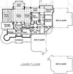 1000 Images About Dream Home Floor Plans