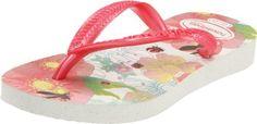 Havaianas Kids Slim Tinker Bell Flip Flop (Toddler/Little Kid/Big Kid) Havaianas. $14.28. Rubber. Made In Brazil. Rubber sole. rubber. Rubber Sole