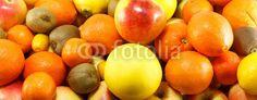 Lots of fresh, juicy fruits