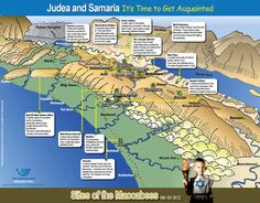 The Chanukah Map - Sites of the Maccabees 166-161 BCE