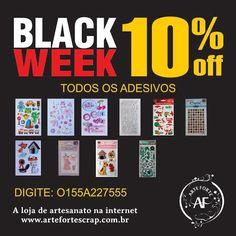 Olá Galera, Nós da Arte Forte Scrap faremos a BLACK WEEK com até 50% de DESCONTO em vários produtos. A BLACK WEEK terá início no dia 27/11/15. Nossa Loja Online está recheada de novidades, não perca esta oportunidade. Preparem-se!!!! www.artefortescrap.com.br