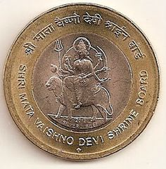 coins and more: Shri Mata Vaishno Devi Shrine Board (SMVDSB) – Silver Jubilee: Honouring Temples and Saints of India: A five rupee commemorative coin issued by Reserve Bank of India, in May Old Coins For Sale, Sell Old Coins, Old Coins Value, Sell Coins, Old Silver Coins, Antique Coins, Old Coins Price, Mata Vaishno Devi, Rare Coin Values