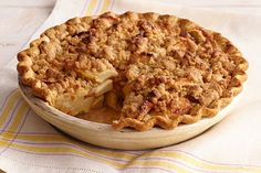 Enjoy a tasty Apple Crumble Pie this season. Whether you buy apples at the store or pick them yourself, Apple Crumble Pie is a great way to enjoy apples.