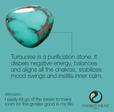 Turquoise, the Master Healer