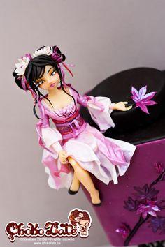 Li - Asian beauty - Cake by ChokoLate