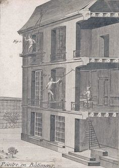 18th century French engraving