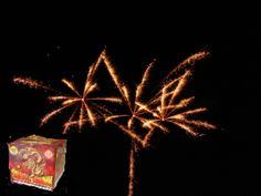 Oriental Dragon is a 14 shot, 500 gram cake with red, green, silver, yellow colors. Effects include stars, glitter, tails and crackling. It reaches 150 feet plus and lasts for 40 seconds.