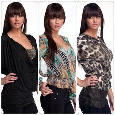 New fashion tops in for women!