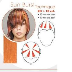 diagram foil hair | CHI® Infra High Lift Reds Collection