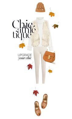 """Thatschic."" by francesca-belotti ❤ liked on Polyvore featuring Karl Lagerfeld, Fusalp, Hollister Co., Puma, Chloé, Inverallan and cozychic"