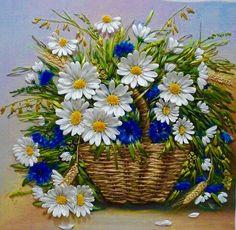 Wonderful Ribbon Embroidery Flowers by Hand Ideas. Enchanting Ribbon Embroidery Flowers by Hand Ideas. Arte Floral, Silk Ribbon Embroidery, Embroidery Patterns, Embroidery Supplies, Embroidery Stitches, Band Kunst, Art Carte, Daisy Love, Ribbon Art