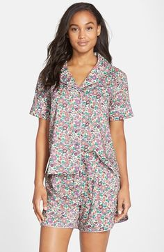 Flowers of Liberty Floral Print Two-Piece Pajama Set (Women) available at #Nordstrom