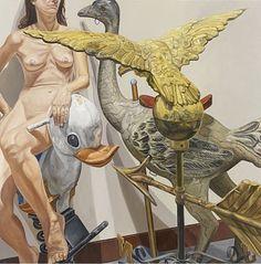 La vida no imita al arte: Philip Pearlstein: La piel como superficie y como frontera.