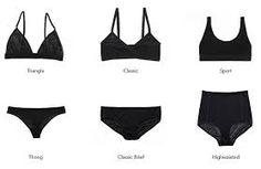 Image result for types of women panties
